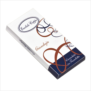 タブレット(板チョコレート)ジャンドゥーヤ